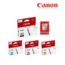 Canon Photo Blue Dye Ink Tank (5.6ml) (CLI-781) - OfficePlus.com.my