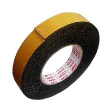DOUBLE SIDED TAPE 18MM X 1 -FOAM BLACK - OfficePlus.com.my