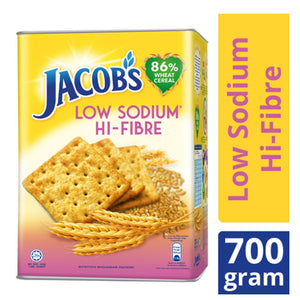 Jacob's Original Low-Sodium Hi-Fibre Tin (700g) - OfficePlus.com.my