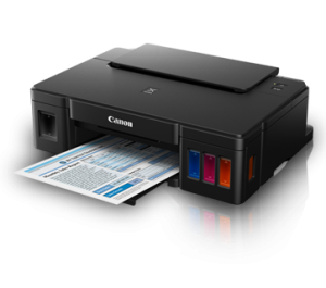 Canon Pixma G1000 - A4 Single Function Color Ink Efficient Inkjet Printer - OfficePlus.com.my