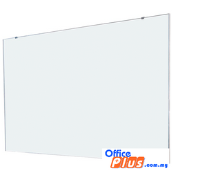 GLASS WRITING BOARD ALUMINIUM GWF-46 120 X 180CM (4′ X 6′) - OfficePlus