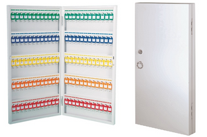 Key Cabinet WKC96 - (96 Keys) 590 x 380 x 52 mm - OfficePlus