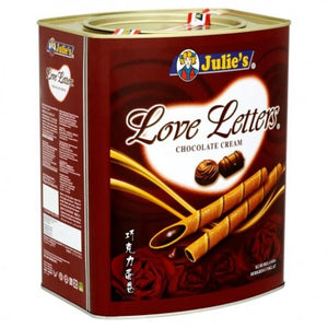 JULIE Julie's Love Letters Cream Biscuits (700g) - Chocolate Cream - OfficePlus