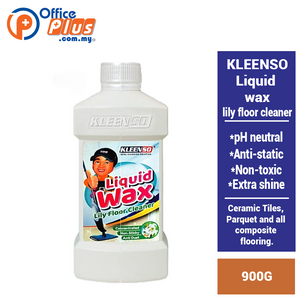 KLEENSO LIQUID WAX LILY FLOOR CLEANER 900G - OfficePlus