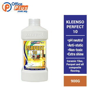 KLEENSO PERFECT 10 FLOOR CLEANER 900G - OfficePlus