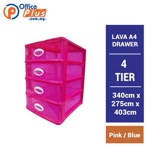 LAVA A4 DRAWER 4 TIER - OfficePlus