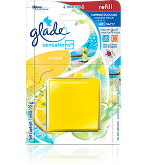 GLADE SENSATIONS LEMON REFILL 8GR/12 - OfficePlus.com.my
