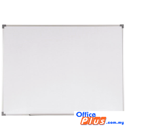 MAGNETIC WHITEBOARD ALUMINIUM SM-34 90 x 120CM (3′ X 4′) - OfficePlus