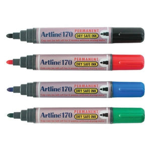 Artline Permanent Marker 170 (RM 2.80 - RM 2.90/pc) - OfficePlus