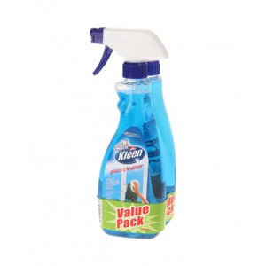 Mr. Muscle Kiwi Kleen Glass Cleaner Value Pack 500mL x 2 - OfficePlus.com.my