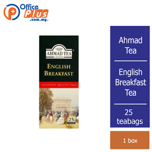 Ahmad Tea English Breakfast Tea - 25 teabags - OfficePlus