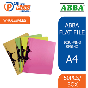 ABBA Flat File 102 U-PIN Spring (RM 1.80 - RM 1.90/pc) - OfficePlus