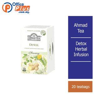 Ahmad Tea Detox Herbal Infusion - 20 teabags - OfficePlus