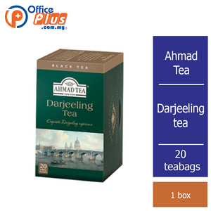 Ahmad Tea Darjeeling Tea - 20 teabags - OfficePlus