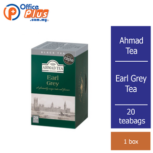 Ahmad Tea Earl Grey Tea - 20 teabags - OfficePlus