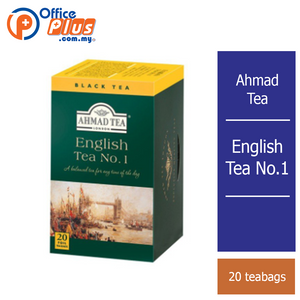 Ahmad Tea English Tea No.1 - 20 teabags - OfficePlus