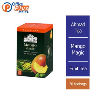 Ahmad Tea Mango Magic Fruit Tea - 20 teabags - OfficePlus
