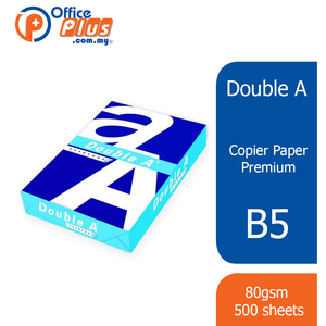 Double A B5 Copier Paper Everyday 70gsm - 500 Sheets - OfficePlus