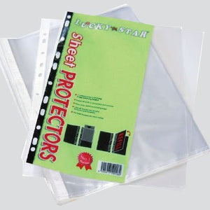 Lucky Star A4 Sheet Protector 10'S (RM 1.40 - RM 1.60/pack) - OfficePlus