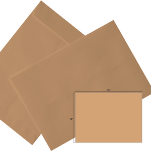 Butterfly Brown Envelope-12″x16″ 250'S/BOX - OfficePlus