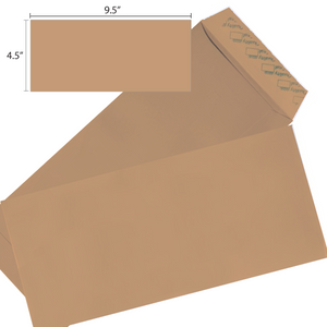 Butterfly Brown Envelope- 4.5″ x 9.5″ Non Window- 500'S/BOX - OfficePlus
