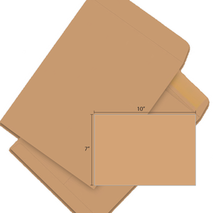 Butterfly Brown Envelope-7″x 10″ 20'S/PACK - OfficePlus.com.my