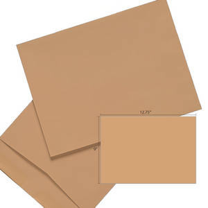 Butterfly Brown Envelope- 9″ x 12.75″ 250'S/BOX - OfficePlus