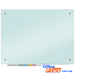 Glass Whiteboard Writing Panel 4 x 6 – GW46 - OfficePlus
