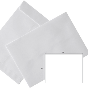 Butterfly White Envelope- 10″ x 13″ – 250's/Box - OfficePlus