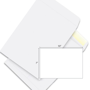 Butterfly White Envelope – 7″ x 10″ 500's/Box - OfficePlus