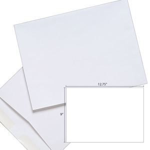 Butterfly White Envelope – 9″ x 12.75″ – 250's/Box - OfficePlus