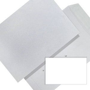 Butterfly White Envelope – 9″ x 14″ Non Window -20's/Pack - OfficePlus
