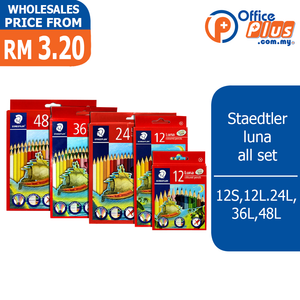 Staedtler Luna Colored Pencils (RM 3.20 - RM 16.70/box) - OfficePlus