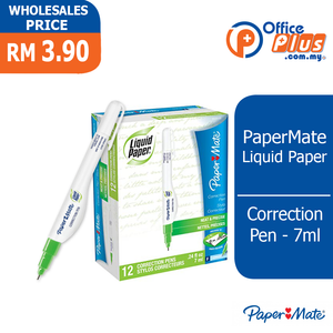 PaperMate Liquid Paper Correction Pen BL1 - 7ml - OfficePlus