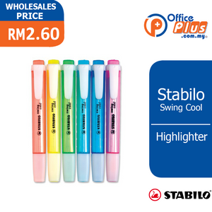 Stabilo Swing Cool Highlighter - OfficePlus