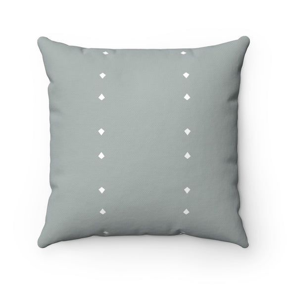 Adira - Gray White Diamond Sofa Couch Pillow