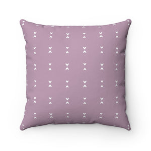 Ash Lavender Living Room Throw Pillow