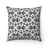 Modern Black And White Decorative Pillow