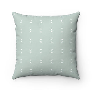 Blue And Neutral Home Room Decor Pillow