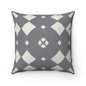Gray Scandinavian Home Decor Pillow