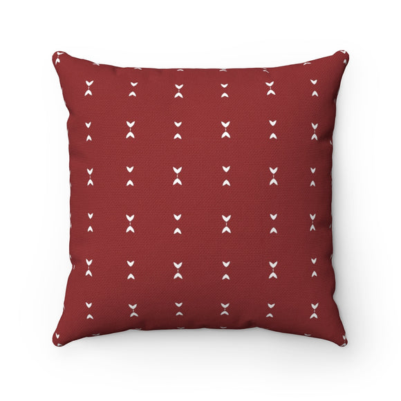 Red Modern Couch Accent