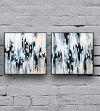 Black And White Abstract Set