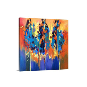Abstract Trees - Colorful Art