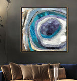 Blue And Teal Wall Decor