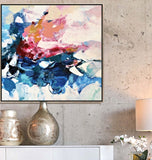 Bright Abstract Art, Roses