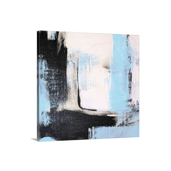 Light Blue Abstract Art Print