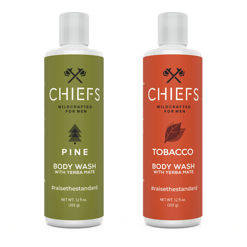 Natural Body Wash with Yerba Mate