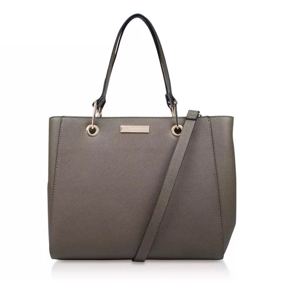 Carvela Reign Zip Structured Hand/Shoulder bag - Charming And Trendy Ltd
