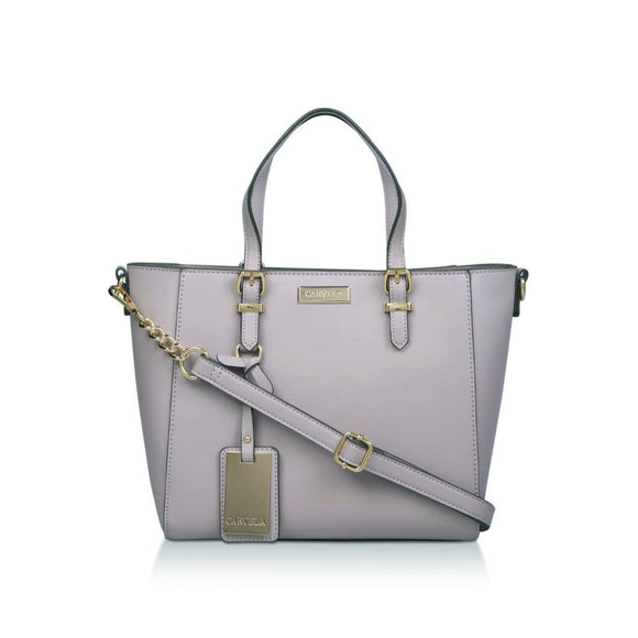 Carvela Danna Winged Tote Bag in Lilac - RRP £59 - Free Earrings - Charming And Trendy Ltd