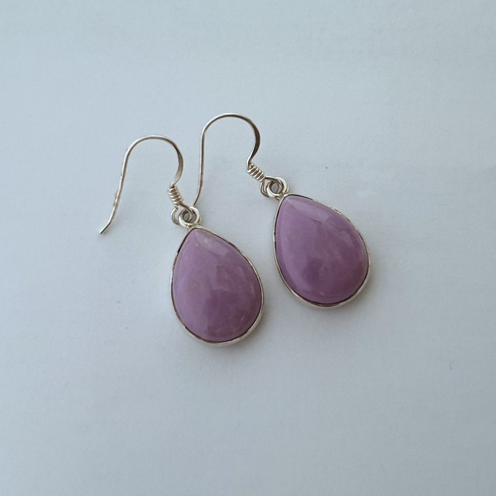 Phosphosiderite Sterling Silver Drop Earrings - Charming And Trendy Ltd
